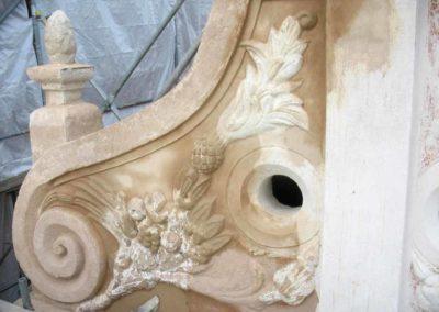 Rekonstruktion eines barocken Ziergiebels