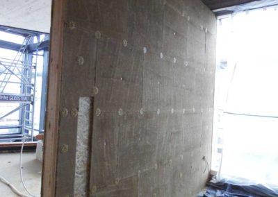 Lehmbauplatten als Untergrund für nachfolgende Lehmfeinputze